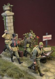 1 Figure D-Day Miniature 1//35 Hitlerjugend Boy No.1 in Germany 1945
